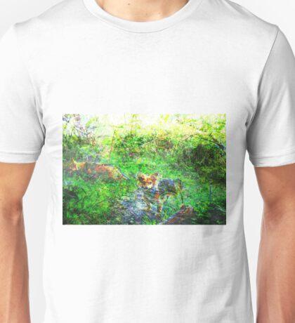 unfolding forests Unisex T-Shirt