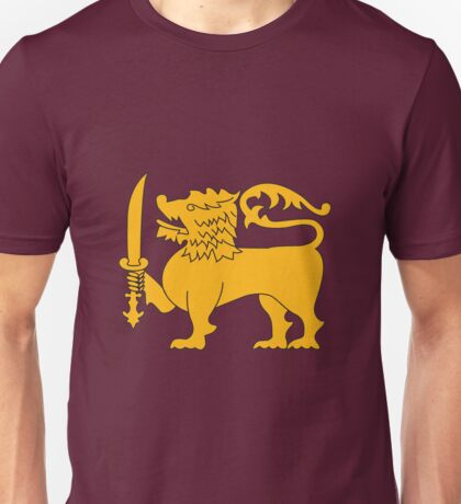 Emblem of Sri Lanka Unisex T-Shirt