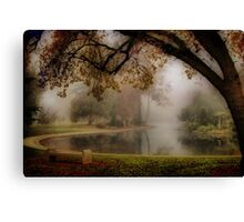 Nature's Painting Canvas Print