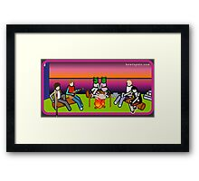 The First Supper Framed Print