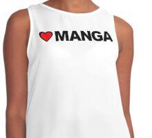 Love Manga Contrast Tank