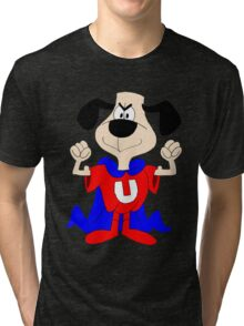 dog super hero Tri-blend T-Shirt