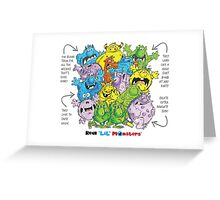 Descriptive Monster group! Greeting Card