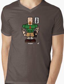 AFR Superheroes #04 - Iron Joe Mens V-Neck T-Shirt
