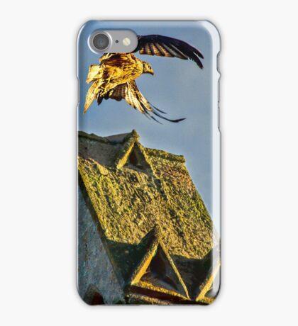 Red Kite Rising iPhone Case/Skin