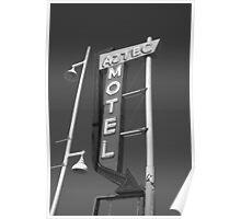 Route 66 - Aztec Motel Poster