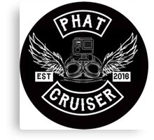 Phat Cruiser - Your Friendly Illawarra Motovlogger Canvas Print