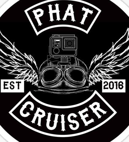 Phat Cruiser - Your Friendly Illawarra Motovlogger Sticker