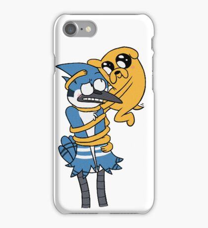 Shippings: Mordecai and Jake! iPhone Case/Skin