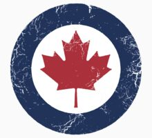 Military Roundels - Royal Canadian Air Force - RCAF One Piece - Short Sleeve