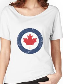 Military Roundels - Royal Canadian Air Force - RCAF Women's Relaxed Fit T-Shirt