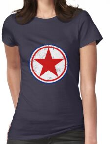 Military Roundels - Korean Peoples Army Airforce Womens Fitted T-Shirt