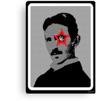 Tesla Rocks! Canvas Print