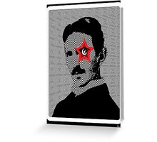Tesla Rocks! Greeting Card