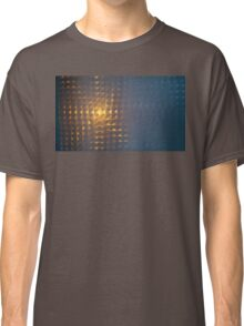 .Sunset Window Tile. Classic T-Shirt