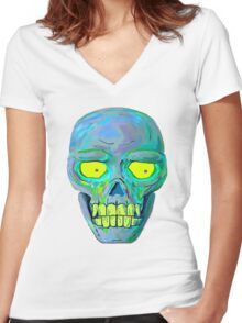Curse Of The Undead (BORIS) Women's Fitted V-Neck T-Shirt