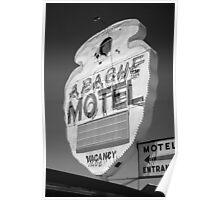 Route 66 - Apache Motel Poster