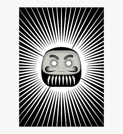 The Daruma Photographic Print