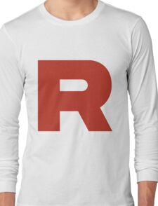 TEAM ROCKET POKEMON Long Sleeve T-Shirt