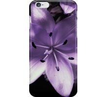 Flower in lilac tones iPhone Case/Skin