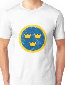 Military Roundels - Flygvapnet Swedish Air Force Unisex T-Shirt