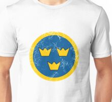 Military Roundels - Flygvapnet Swedish Air Force Unisex T-Shirt