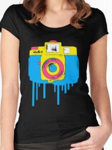 Light Leak Women's Fitted Scoop T-Shirt