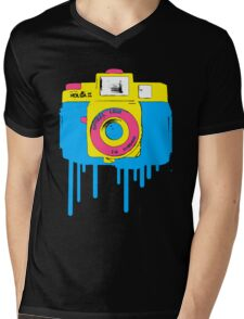Light Leak Mens V-Neck T-Shirt