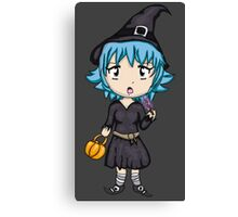 Cute Sassy Witch Canvas Print