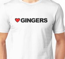 Love Gingers Unisex T-Shirt