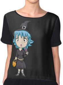 Cute Sassy Witch Chiffon Top