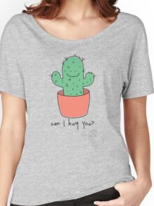 Can I hug you? Women's Relaxed Fit T-Shirt