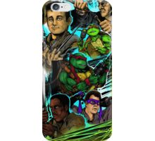 Teenage Mutant Ninja Turtles/Ghostbusters iPhone Case/Skin
