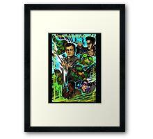 Teenage Mutant Ninja Turtles/Ghostbusters Framed Print