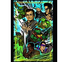 Teenage Mutant Ninja Turtles/Ghostbusters Photographic Print