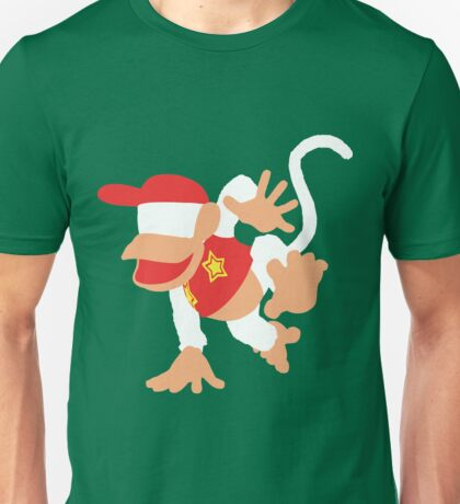 Diddy Kong Vector Unisex T-Shirt