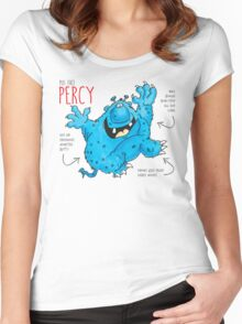 Descriptive Percy! Women's Fitted Scoop T-Shirt