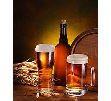 Beer and Draft Beer Photographic Print