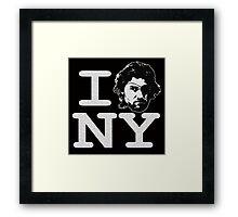 I ESCAPE NY Framed Print