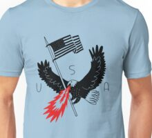 FIRE BREATHING BALD EAGLE OF PATRIOTISM Unisex T-Shirt