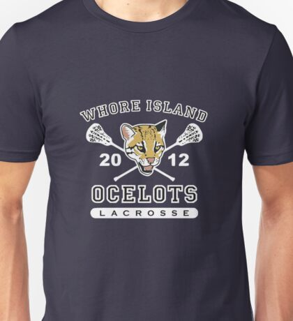 Whore Island Ocelots - Archer Unisex T-Shirt