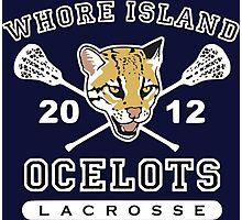 Whore Island Ocelots - Archer Photographic Print