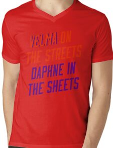 Mystery Ladies Mens V-Neck T-Shirt