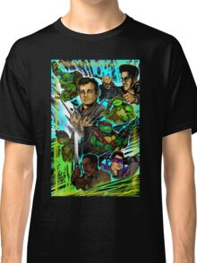 Teenage Mutant Ninja Turtles/Ghostbusters Classic T-Shirt