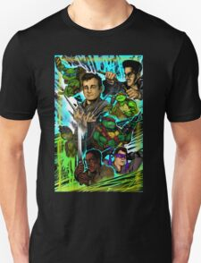 Teenage Mutant Ninja Turtles/Ghostbusters Unisex T-Shirt