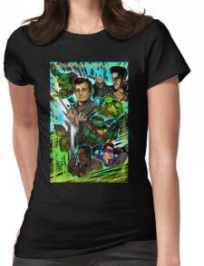 Teenage Mutant Ninja Turtles/Ghostbusters Womens Fitted T-Shirt