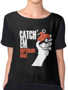 Catch em Chiffon Top