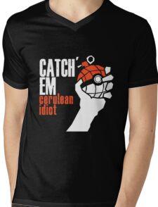 Catch em Mens V-Neck T-Shirt