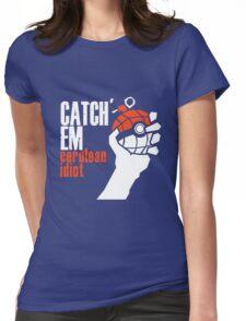 Catch em Womens Fitted T-Shirt