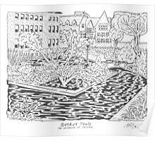 Botany Pond Maze Poster